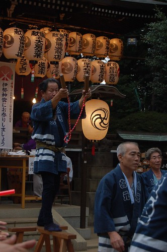 Trying to set the position of Mikoshi