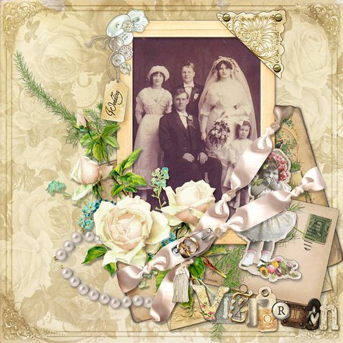 Wedding Scrapbooking Ideas Digital Scrapbooking Layouts July 2008