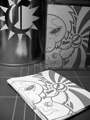 vinyl stickers (camo*) Tags: street urban inspiration streetart art illustration monkey design graphicdesign sticker comic character cartoon vinyl style camo ape toon spaceape ステッカー postgraffiti стикер 贴纸 camodesign