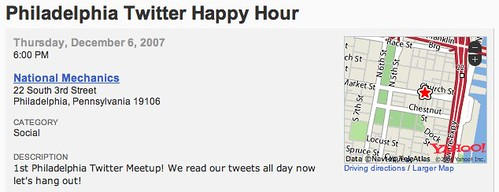 Twitter Happy Hour