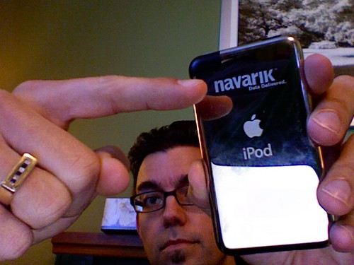 iPod Touch - Navarik logo