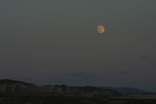 Death Valley Moon Raise