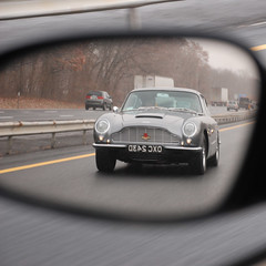 Aston (-ytf-) Tags: classic car mirror highway astonmartin i87 thruway ytf ytfnyc