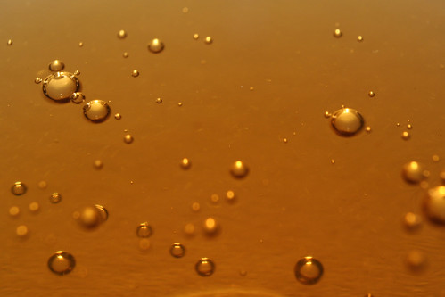 Gold bubbles by timtom.ch, on Flickr