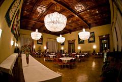 rathaus. (gr0uch0) Tags: vienna dinner austria wenen ismir radhaus ismir2007 wappensaal
