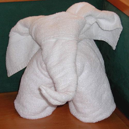 Towel Elephant 0