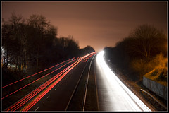 A38 From Hill Field Lane Bridge (Daniel Hodson) Tags: uk england dan night canon eos 350d long exposure flickr unitedkingdom daniel aib peter canon350d canoneos350d derby freelance a38 hodson stretton visualcommunication hoddo artsinstitutebournemouth danielpeterhodson danielhodson theartsinstitutebournemouth dhodson wwwdanielhodsoncouk httpwwwdanielhodsoncouk