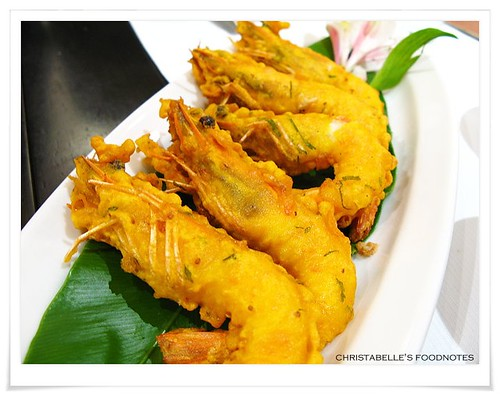 番紅花印度料理前菜香酥蝦NT240