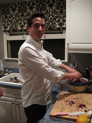 Ryan making salad!