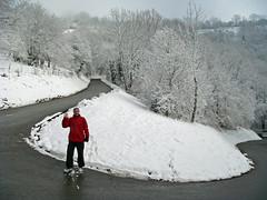 Col de la Croisette - snow