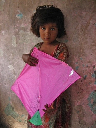 Pink Patang by Meanest Indian