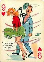 Pin-up Cartoon Playing Cards