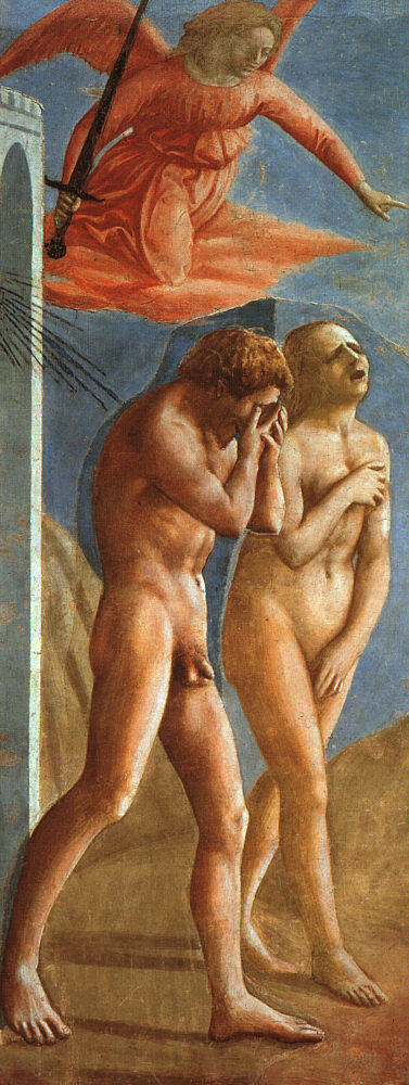 MASACCIO The Expulsion from the Garden of Eden 1426-27