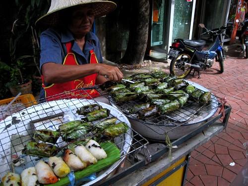 June 2007: Vendor on Soi Rambuttri, Bangkok