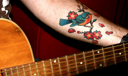 robin. robin tattoo. strings