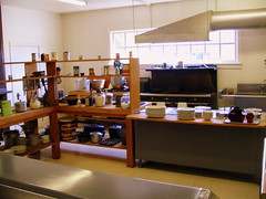 The First Sanders Cafe Kitchen