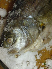 Whole Snapper Baked in Salt Crust