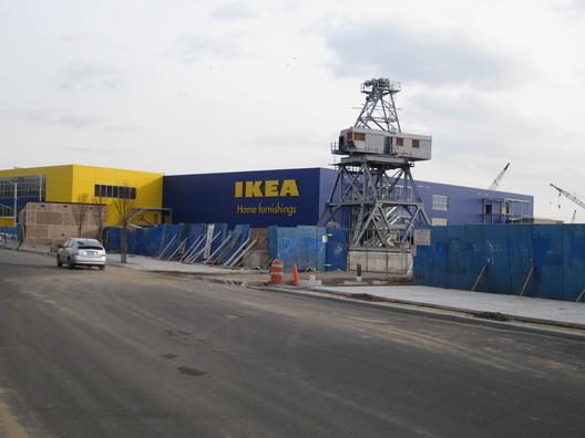 Ikea with Crane