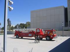 LACMA firetruck
