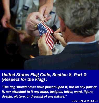 bush_flag_desecration