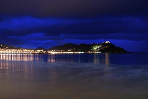 Mar. Nubes y Luces. San Sebastián (1)