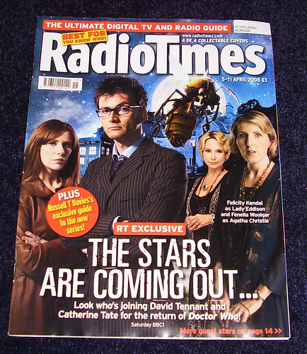 RADIO TIMES - Dr Who Cover 4