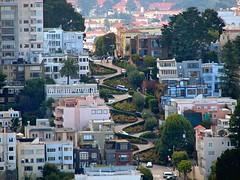 Lombard St - the crookedest street in the world - San Francisco, Ca (Daniel Kliza) Tags: sf sanfrancisco california street usa america united unitedstatesofamerica states lombardst crooked thecrookedeststreetintheworld