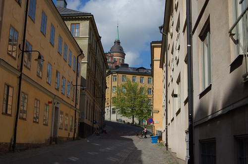 Södermalm島、北西の街並み