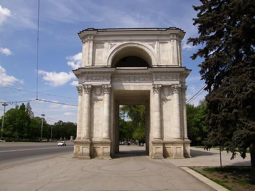 Triumphal arch, Chisinau