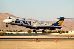 Allegiant Air McDonnell Douglas DC-9-83(MD-83) N877GA (BOSOX Photographix) Tags: las vegas air douglas mccarran mcdonnell allegiant n877ga dc983md83