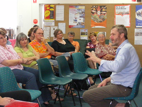 William McInnes Author talk at Nightcliff Library, Darwin