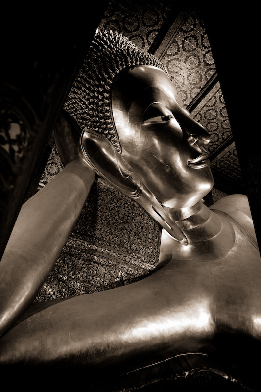 The Giant Reclining Buddha