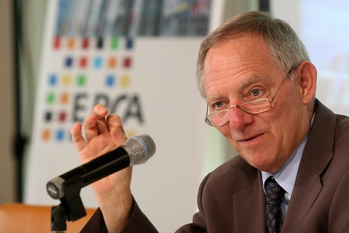 Big Brother Award Wolfgang Schäuble