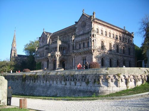 Palacio de Sobrellano(Comillas)