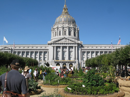 City Hall and the Victory Garden