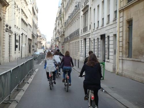Rodando por París