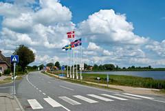 Deutsch-dänische Grenze in Rudbøl (arne.list) Tags: sønderjylland nordfriesland rudbøl deutschdänischegrenze tønderkommune
