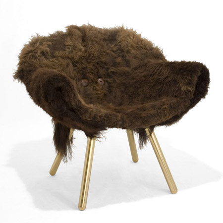 wooly chair