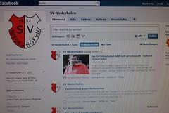 Die SVN Fanseite auf Facebook