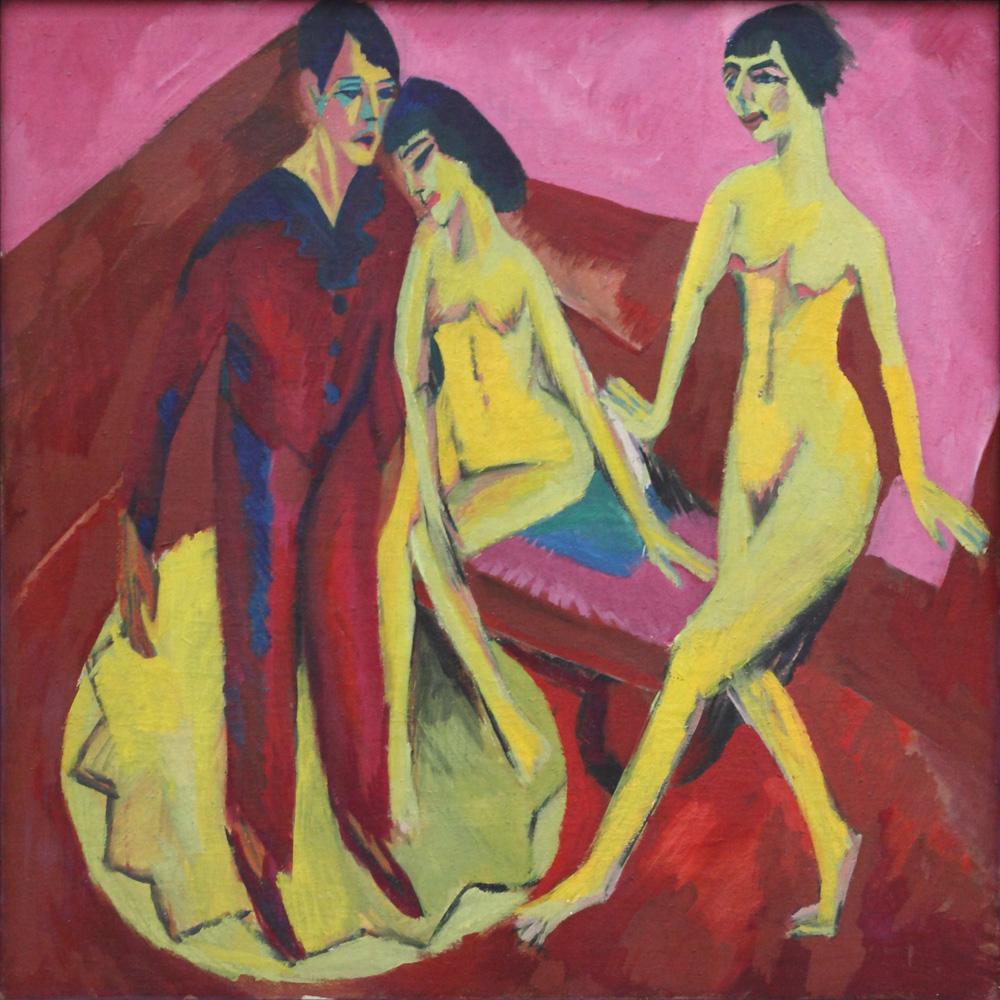 Ernst Ludwig Kirchner, Tanzschule [Dance school], 1914