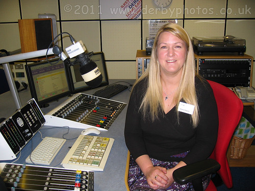 Aleena Naylor on the BBC Radio Derby tour.