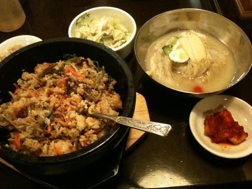 石焼きビビンバ+ミニ冷麺セット
