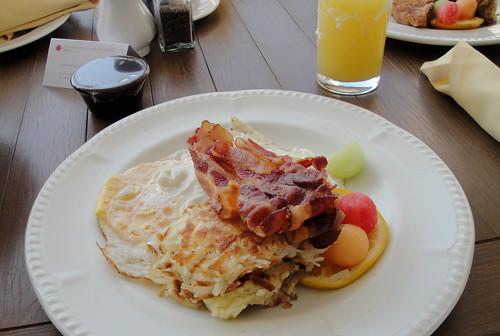 Room Service-American Breakfast