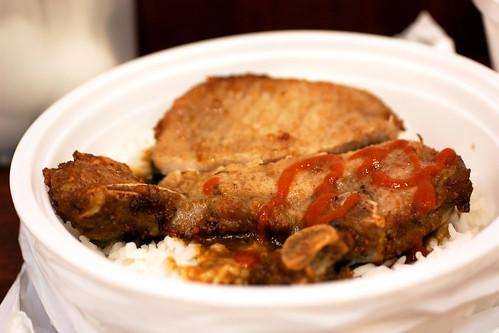 pork chop @ hua ji