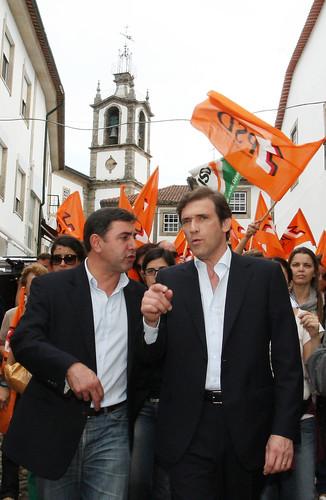 Pedro Passos Coelho em  Valença