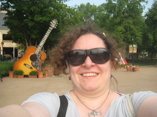 Self-Portrait at the Grand Old Opry