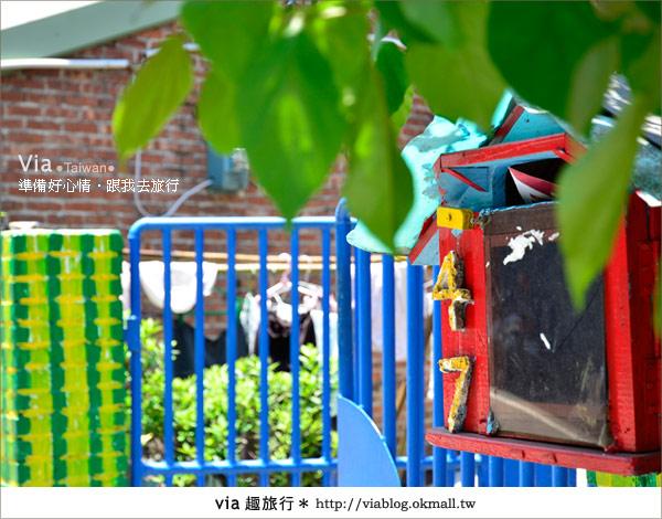 【彩繪客家村】驚豔,彩繪村!新竹竹東鎮軟橋社區尋彩趣25
