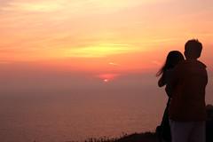 Romance at Oia (Neiv84) Tags: sunset sea love couple romance santorini greece oia