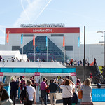 Entrance to the ExCeL Arena