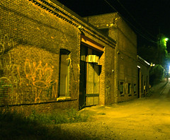Industrial Alley at Night